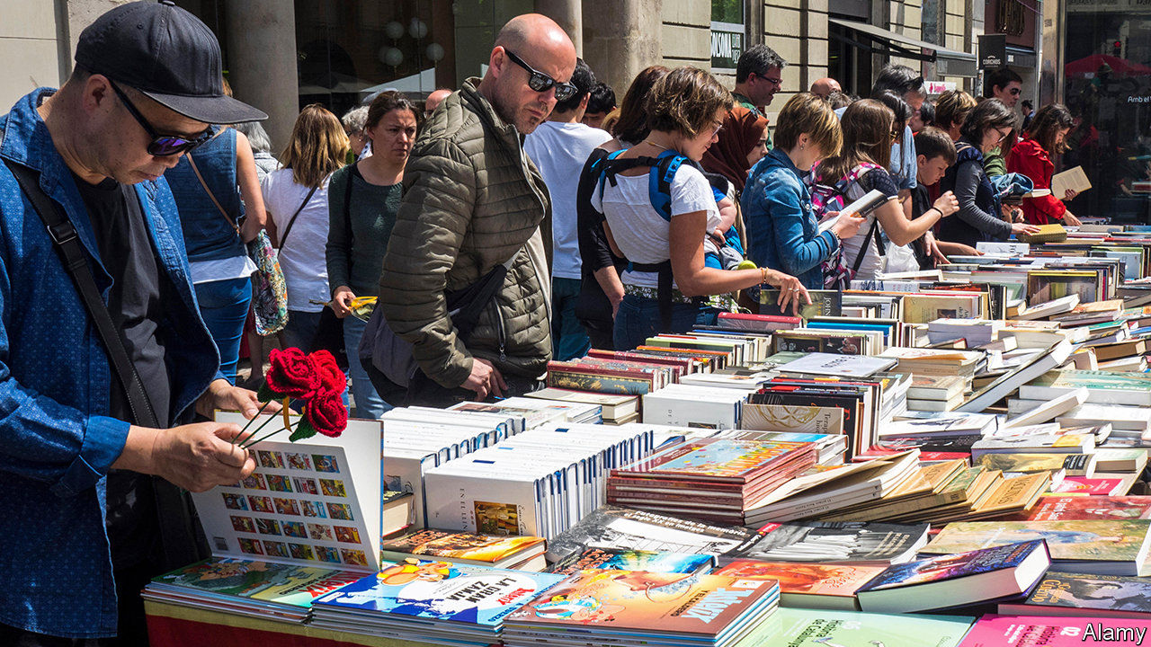 On Saint George's Day, Catalans lust for literature
