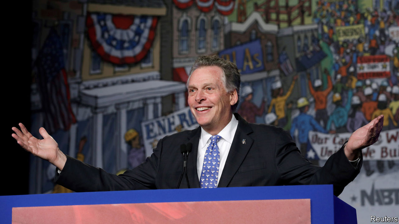 Why Terry McAuliffe is focusing on Virginia