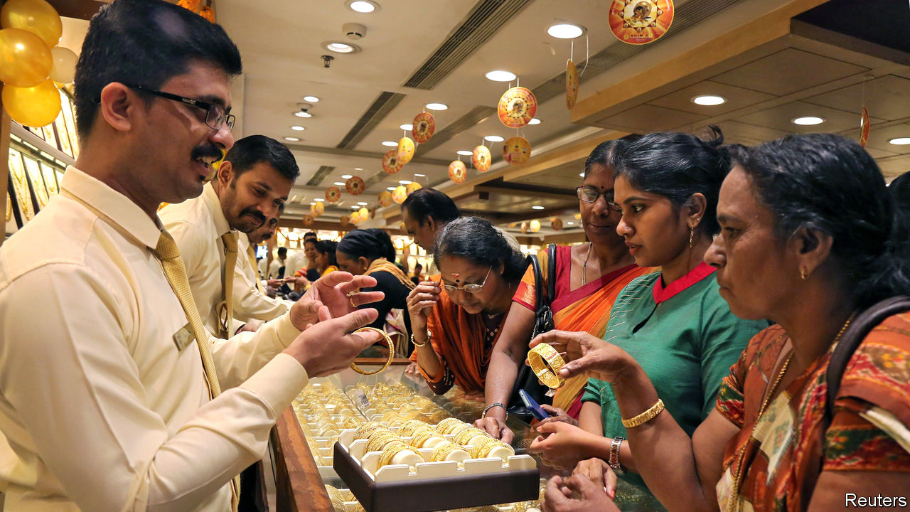 Why are Indians falling out of love with gold?