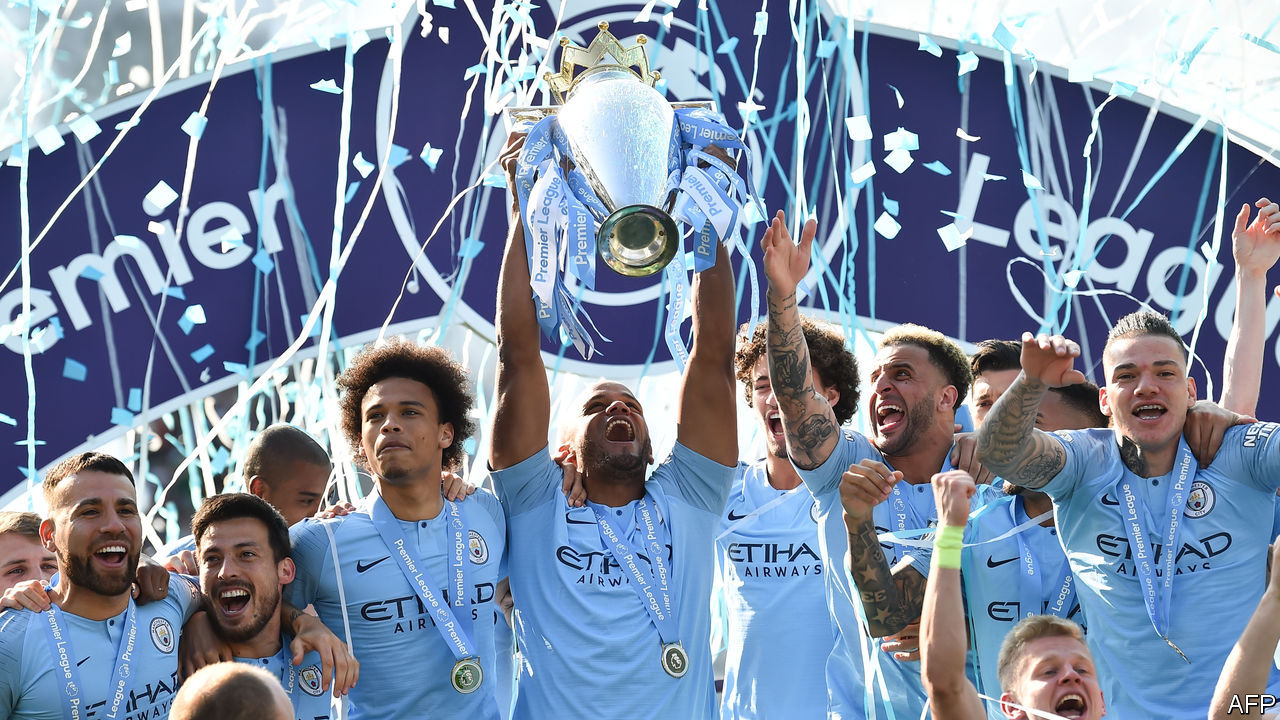 How Manchester City came to rule English football