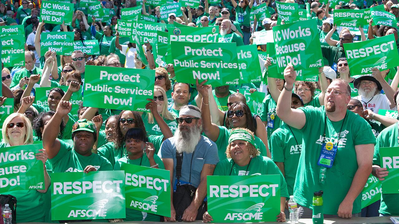 public sector unions