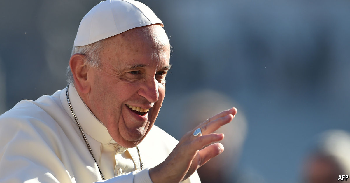 Comments On Europe Charlemagne And The Pope A Non European Pope Is