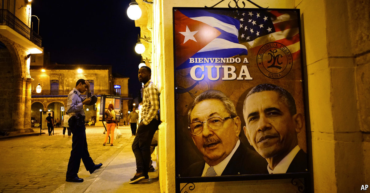 Comments on The Economist explains: Why Obama's visit to Cuba is