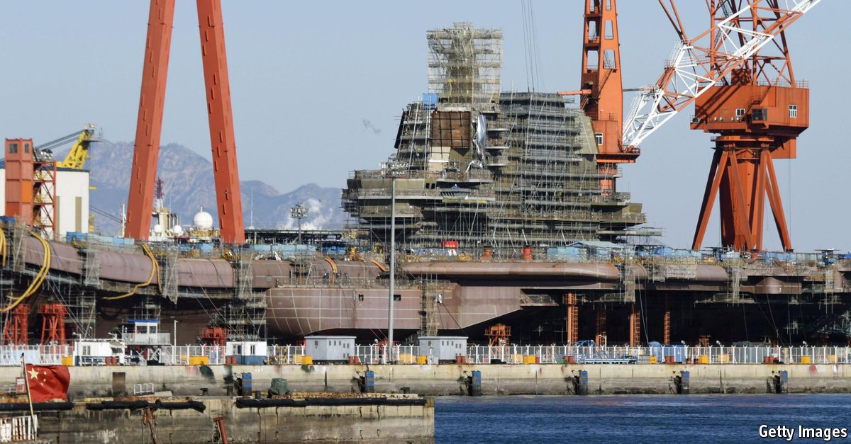 Comments on China's first aircraft-carrier bares its teeth   The