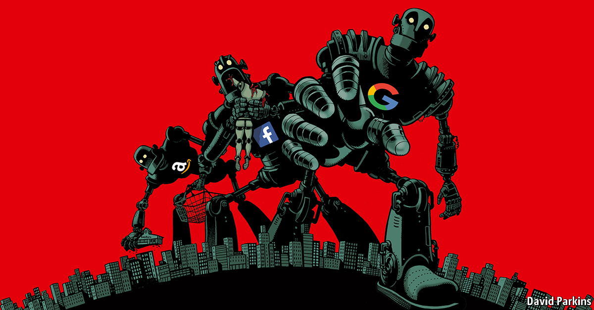 Comments on How to tame the tech titans | The Economist