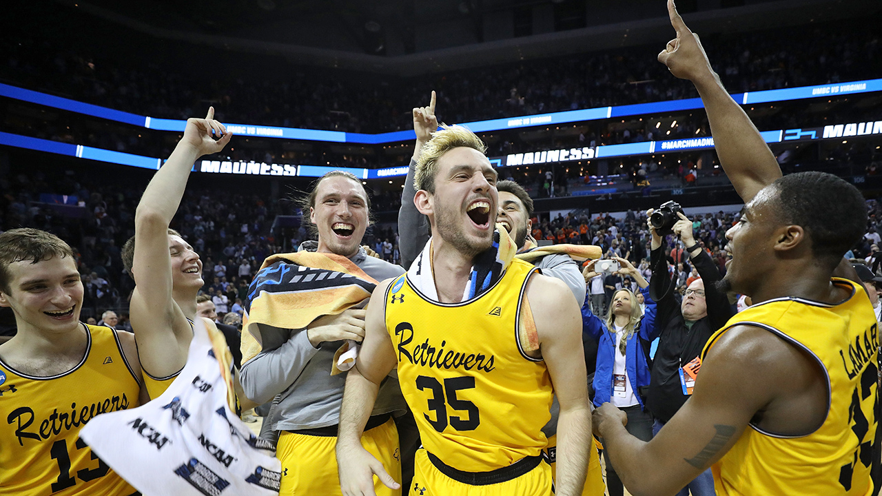 the maddest march at last a 16 seed upsets a number one upsets