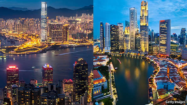 Choosing Between Hong Kong And Singapore You Pays Yer Money Takes Choice Which Mba The Economist