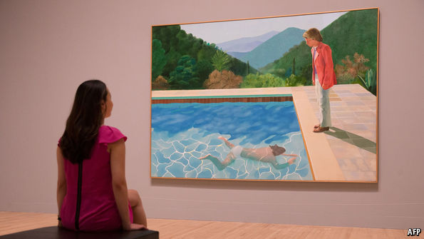 The Tate dives into the art of David Hockney