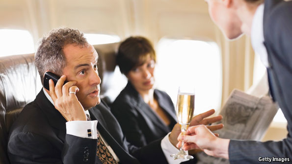 Air Passengers Rail Against Allowing Mobile-Phone Calls on Planes