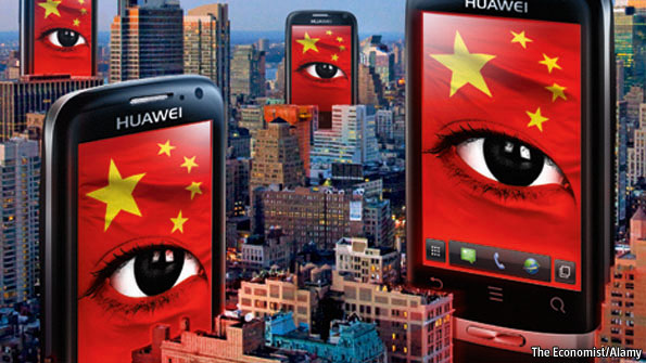 Who S Afraid Of Huawei The Economist