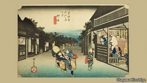Frank Lloyd Wright And Japanese Art Heaven Closer To