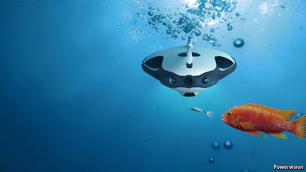 The ultimate angling aid: a fishing drone