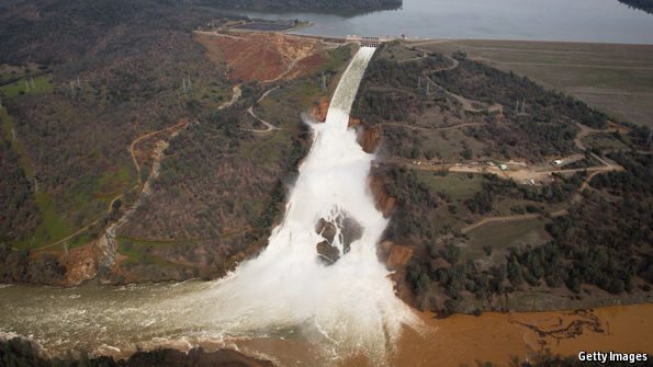 Worries over California's huge Oroville Dam failing have subsided—for the time being