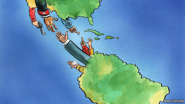 relationship between latin america and the united states