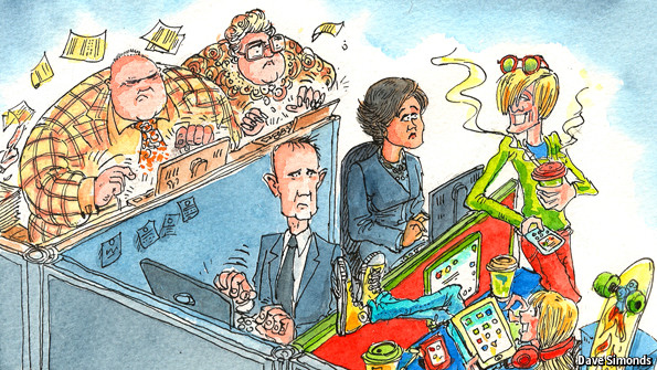 Winning the generation game (C) The Economist Sept 28th 2013