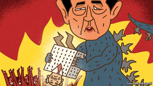 meet shinzo abe shareholder activist