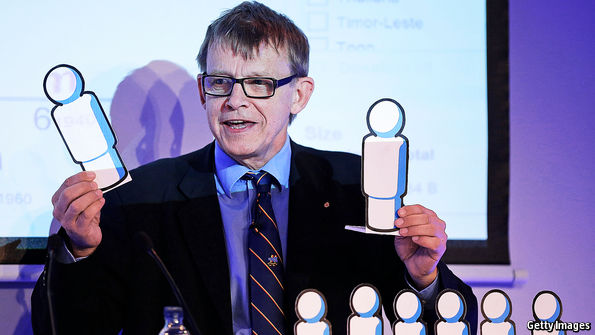 Hans Rosling, statistician and sword-swallower, has died