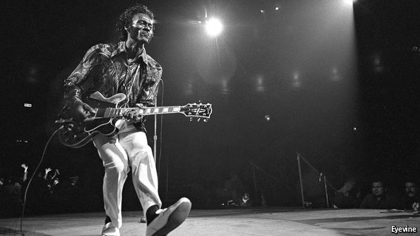 The reign of rock began with Chuck Berry