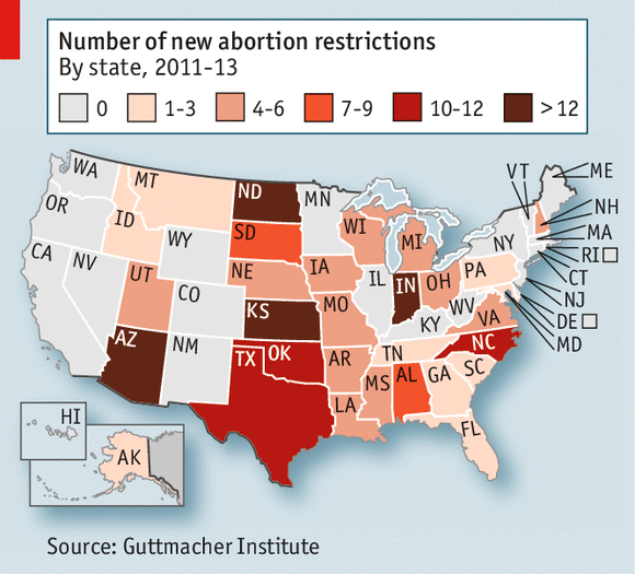 An analysis of the issue of abortion in the united states