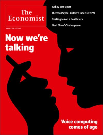 Now we're talking — The Economist cover : Design