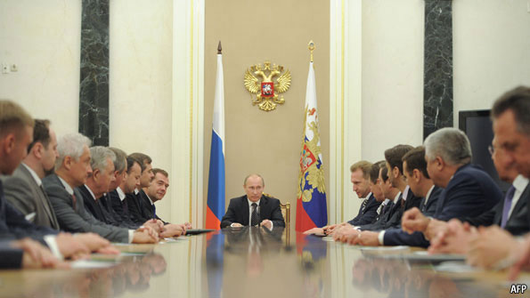 Putin's gang - Russia's new cabinet