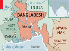 The begums and the two giants  Bangladesh and its nearabroad
