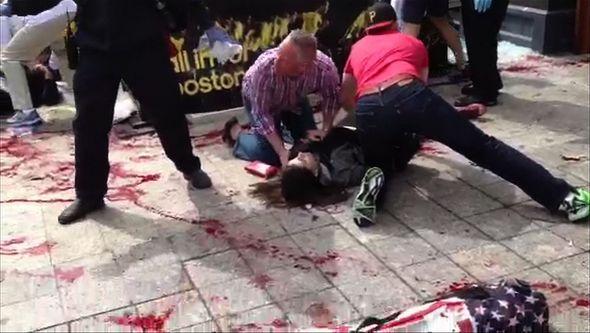 Zamach Photo: Tragedy In Boston: Many Questions, Few Answers