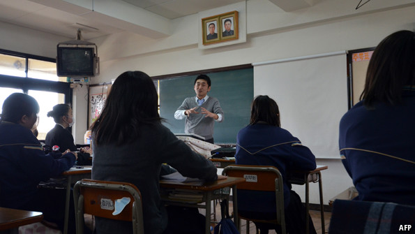 Why are there North Korean schools in Japan?