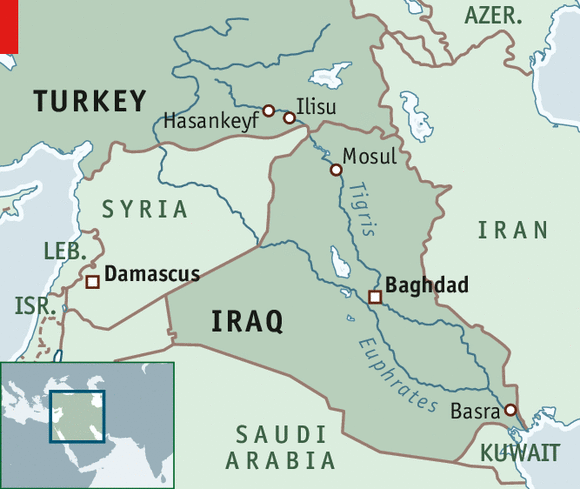 A Mesopotamian odyssey Iraqs dwindling rivers