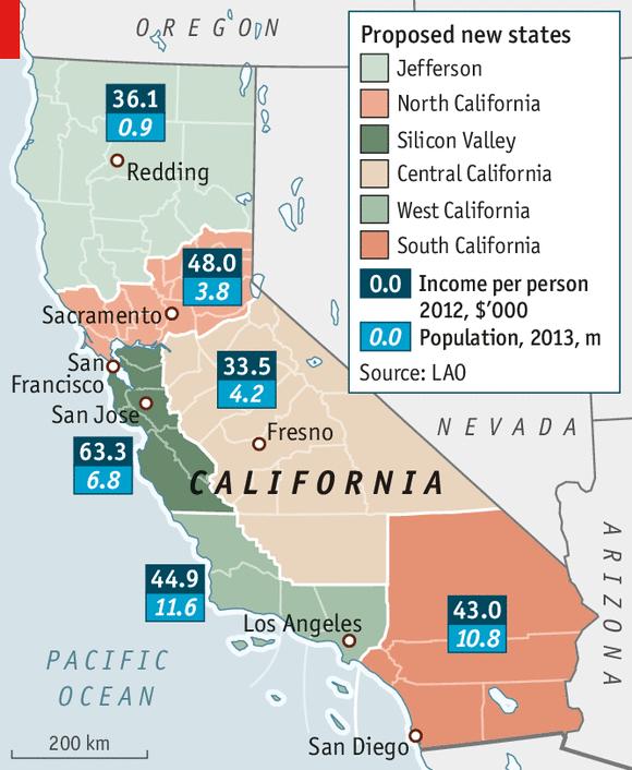 Long Division Splitting Up California