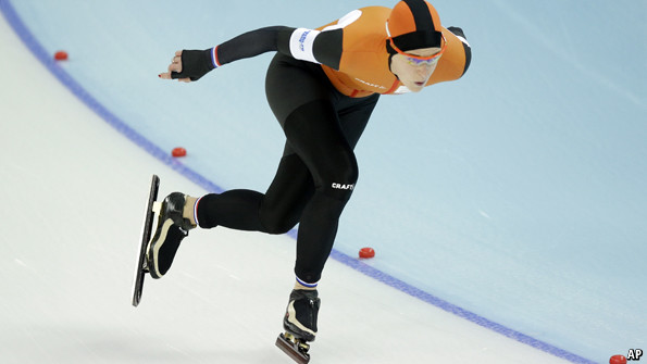 Dutch speed skaters: On Russian ice | The Economist