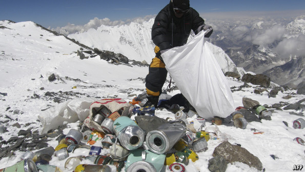 The mess on Everest and how to clean it up