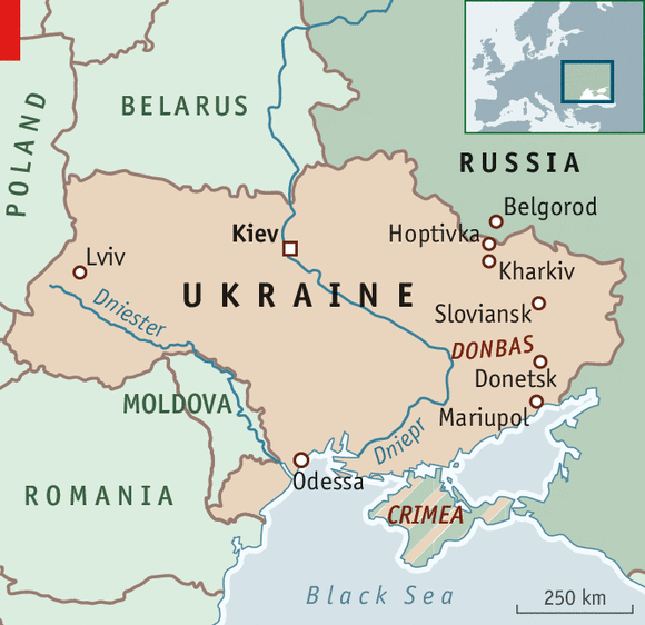 Temperature rising Chaos in Mariupol