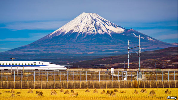Why Japan leads the world in high-speed trains