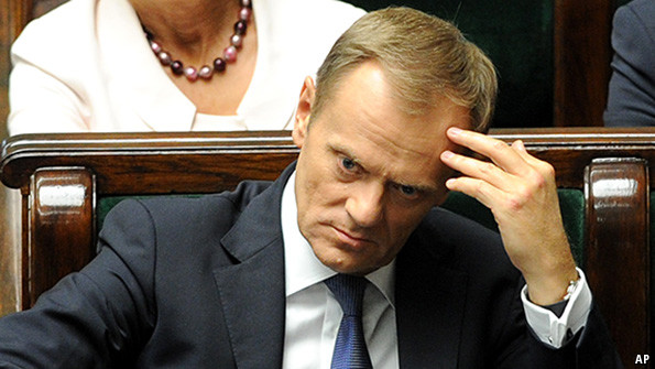 Image result for donald tusk angry