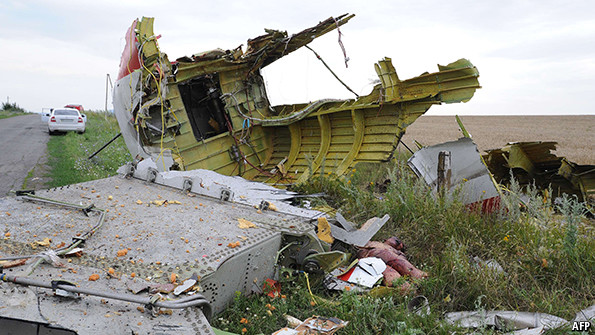 Flight Mh17 The Evidence The Economist