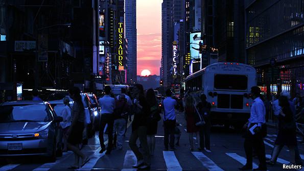 The meaning of Manhattanhenge
