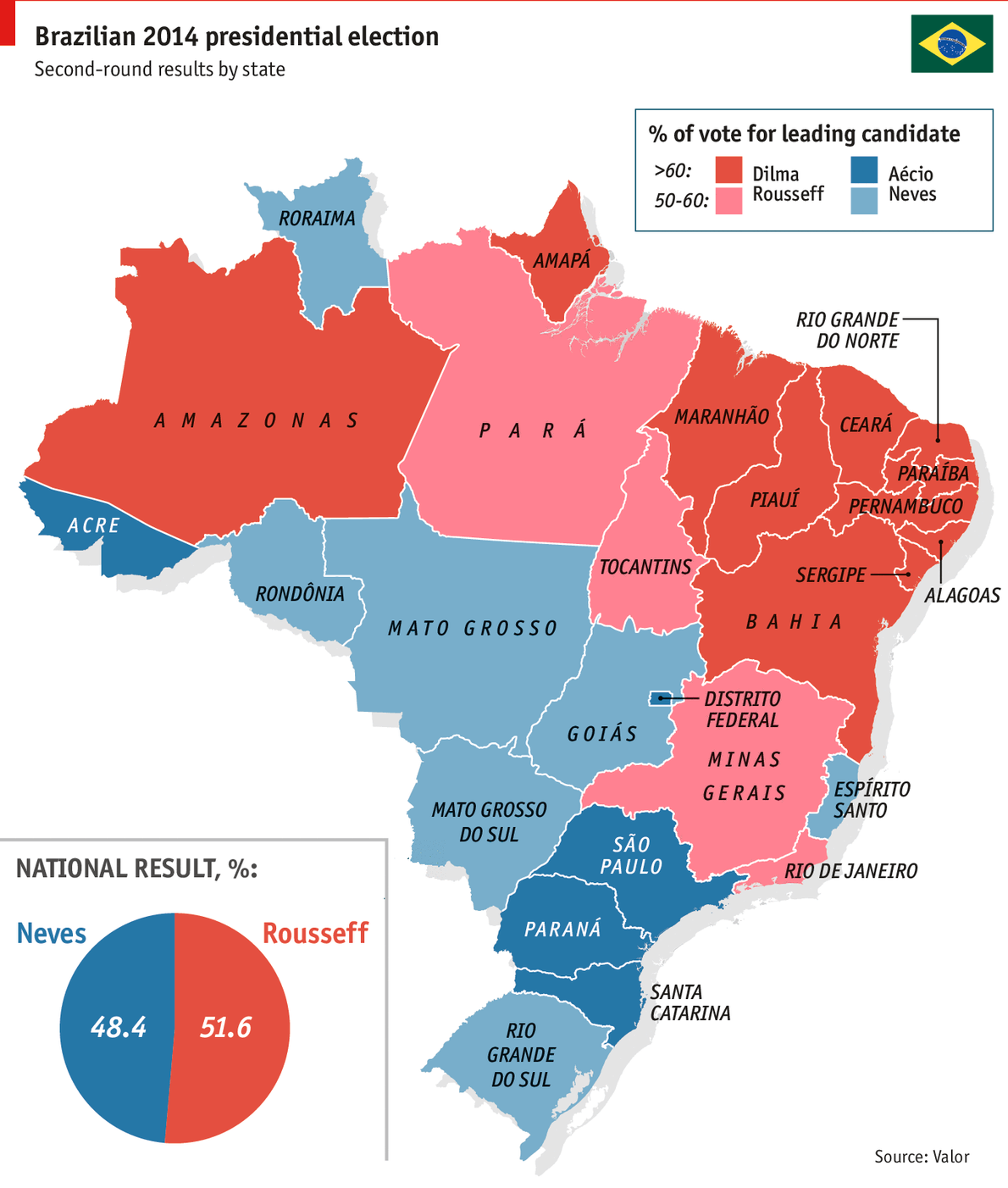 Brazil S Presidential Electiona Riven Country
