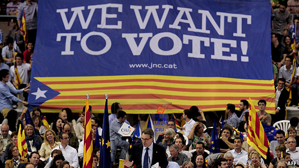 catalonia s independence movement the economist explains