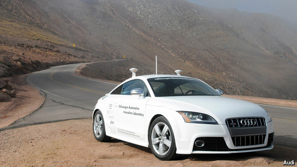 The Humandriven Driverless Car Technology And Productivity - Audi driverless car