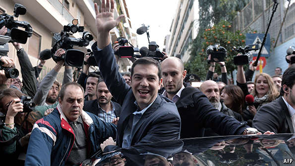 Greece turns, Europe wobbles