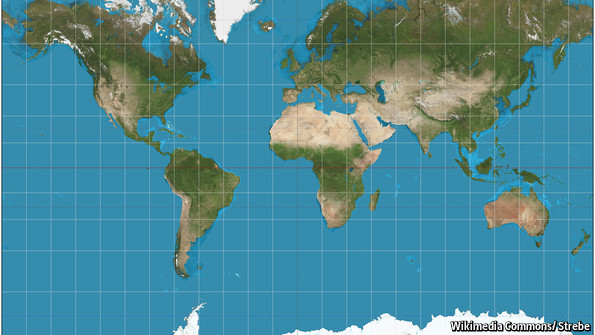 Why world maps are misleading the economist explains the economist explains gumiabroncs Gallery