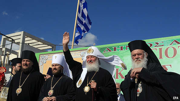 Greece, religion and geopolitics: A hint of civilisations ...