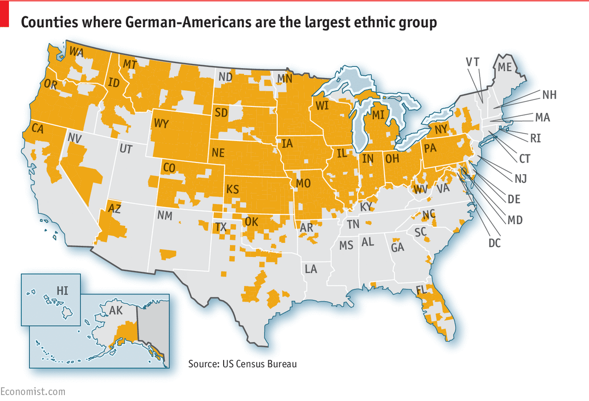 The silent minority - German-Americans
