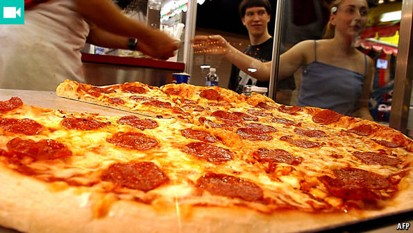 the pizza industry Carving out a bigger slice of the massive pizza industry by making and serving better food for our guests.