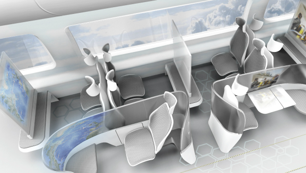 what will passengers stand for aircraft cabin design