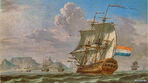 How An Old Dutch Flag Became A Racist Symbol The Economist Explains