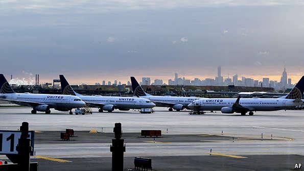 Newark State Of Mind United Airlines Leaves Jfk