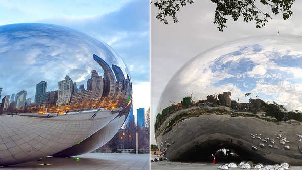 The Bean and the Bubble