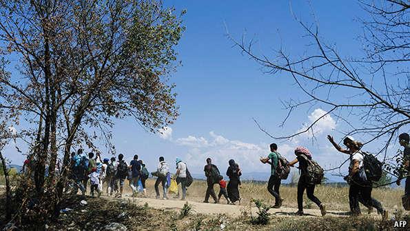 Why The Schengen Agreement Might Be Under Threat The Economist